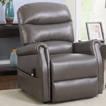 Leather Infinite Position Lift Chair