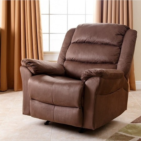Brown Microsuede Lift Chair