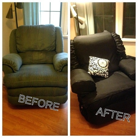 Before After With Slipcover