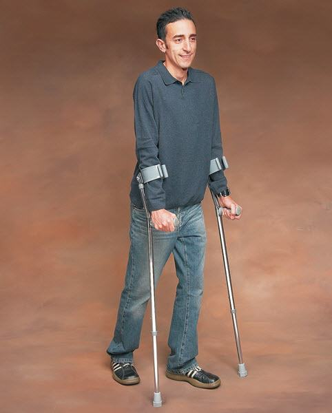 Crutches For Man